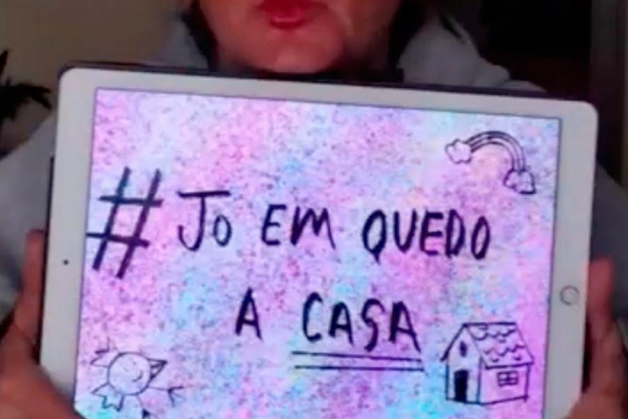#JoEmQuedoaCasa