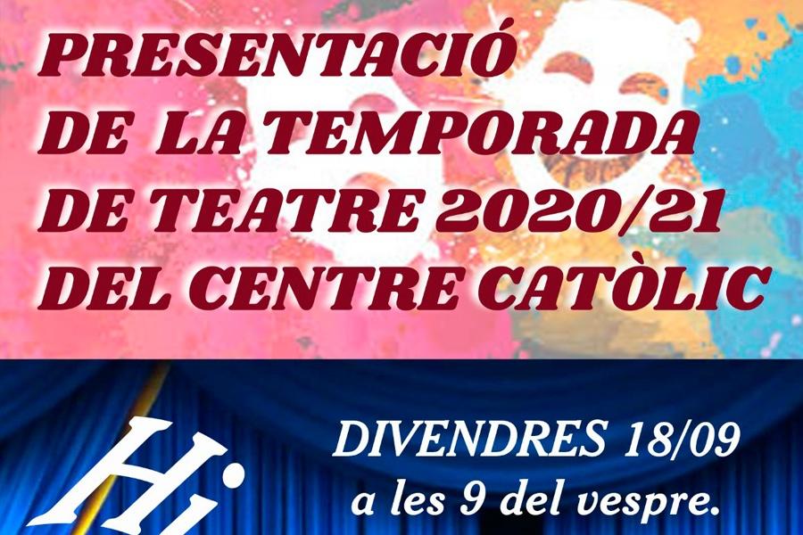 Presentació de la temporada Teatre 2020