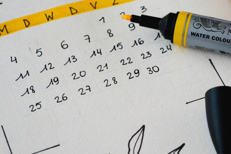 Calendari d'assaigs del Novembre 2021